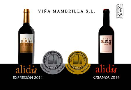 Alidis wines achieve two medals in Vinalies 2017